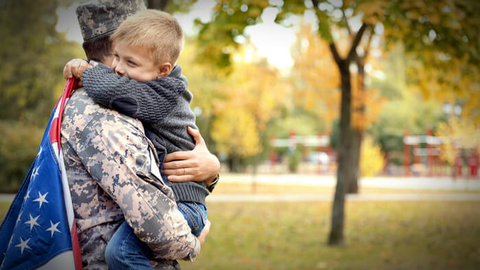Supporting Veterans and Their Families