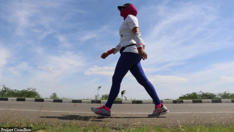 One Woman Is Walking Across India To Help Fight Her Country's Rape And Misogyny Problem