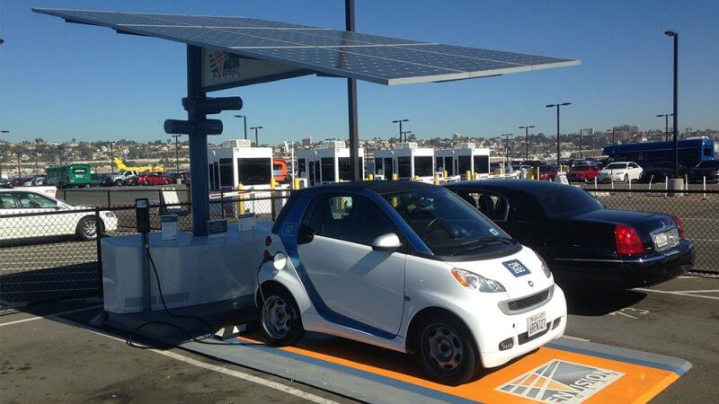 Envision Solar secures $4.5 million for solar electric-car charging