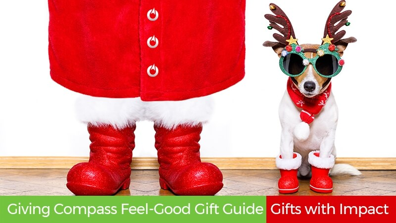 Giving Compass Feel-Good Gift Guide