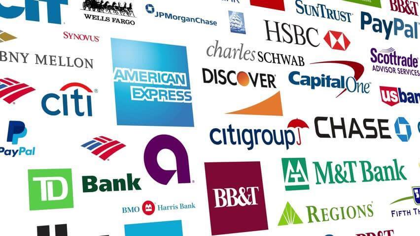 Financial Institutions Logos A Really Big Fu...
