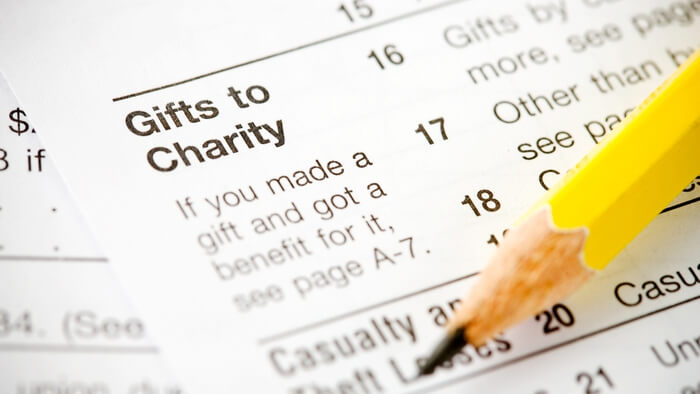 Is my Charitable Donation tax deductible?