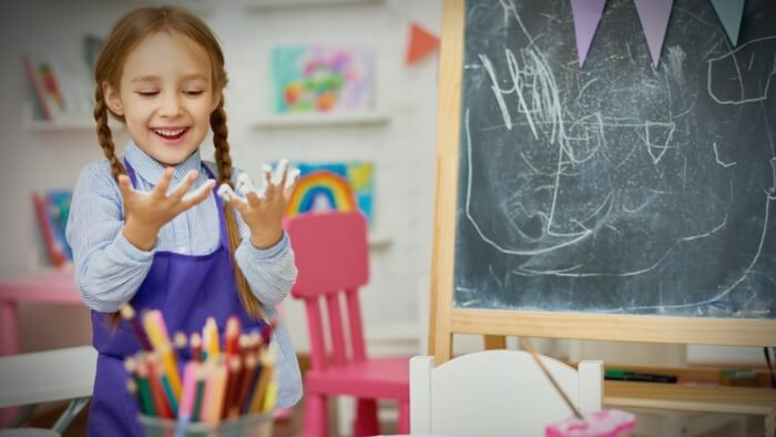 Helping Kids Prepare For Kindergarten Through Arts Education-giving compass