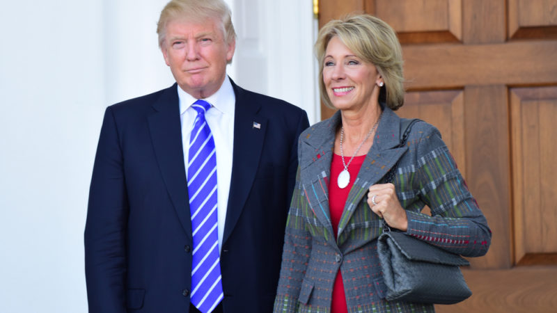 betsy devos views on school safety giving compass