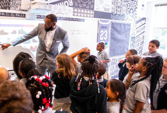 7 Amazing Things About LeBron James' New School for Low-Income Students Giving Compass