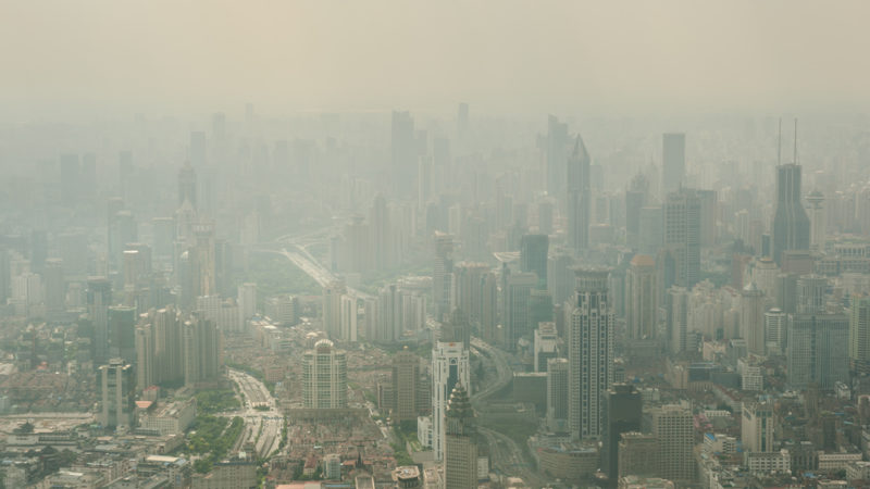 Giant Towers Could Clean Toxic Smog Giving Compass