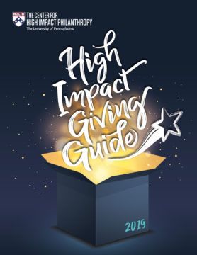 2019 High Impact Giving Guide