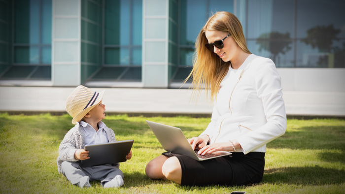 Getting Moms to Re-enter the Workforce Through Tech Training Giving Compass