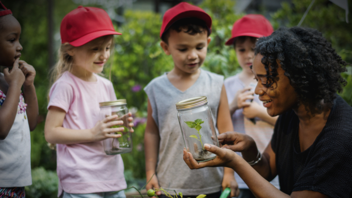 Green Schoolyard Movement: Focusing on Environmental Education and Equity Giving Compass