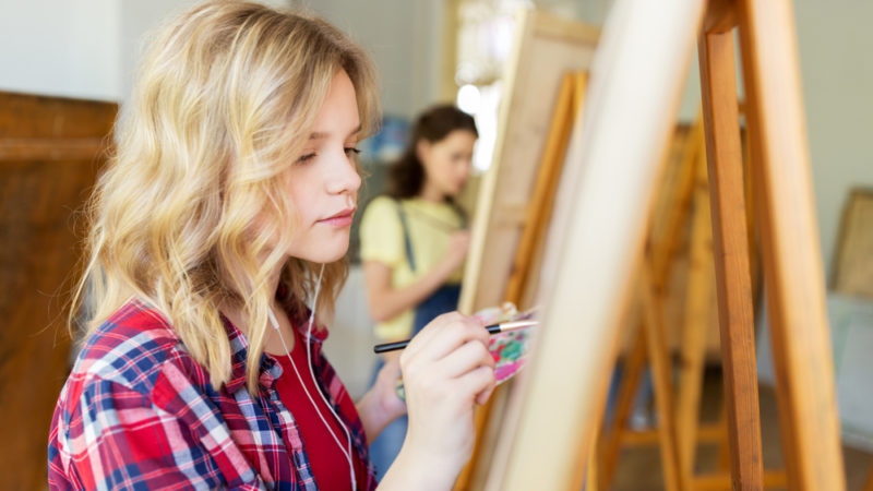 Using Arts to Teach SEL Skills Giving Compass