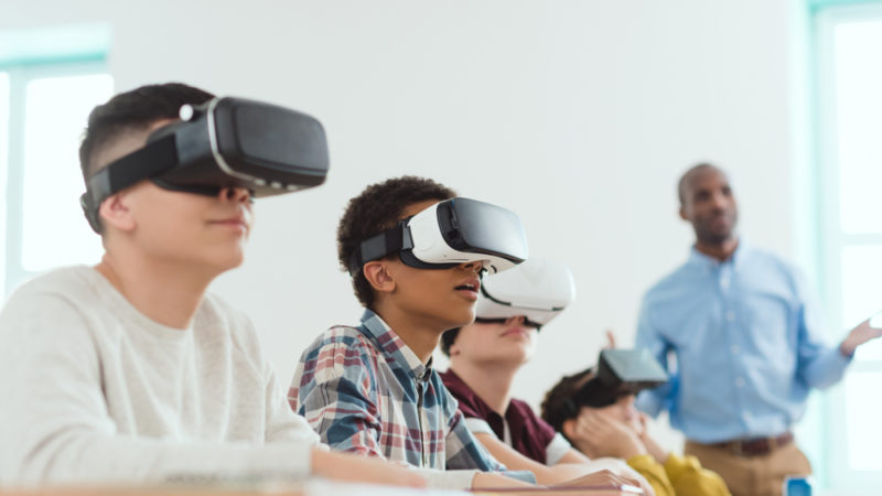 Using VR to Bring Student Face-to-Face with the Most Pressing Issues Giving Compass