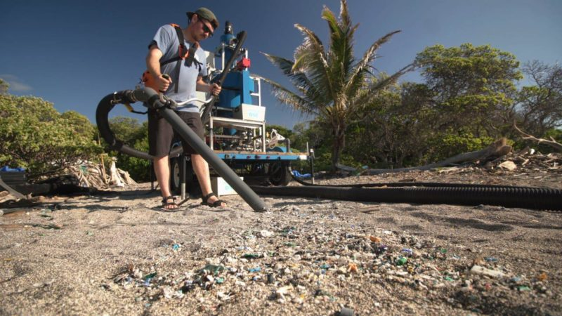 Using A Giant Vacuum To Clean Our Beaches Giving Compass