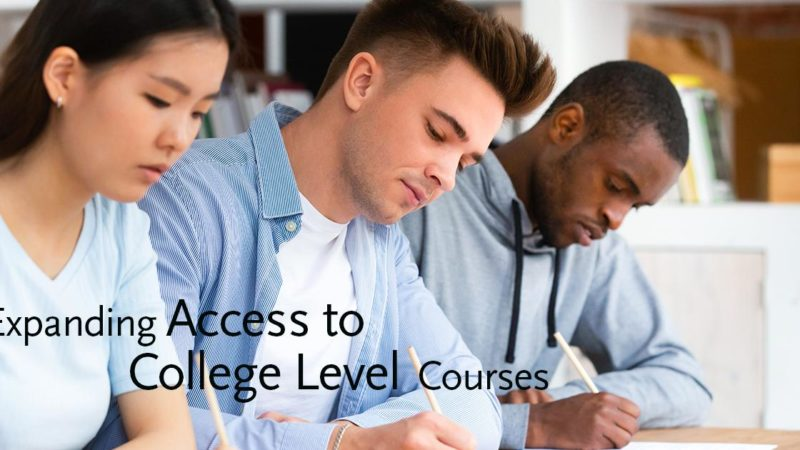 Expanding Access to College-Level Courses Giving Compass
