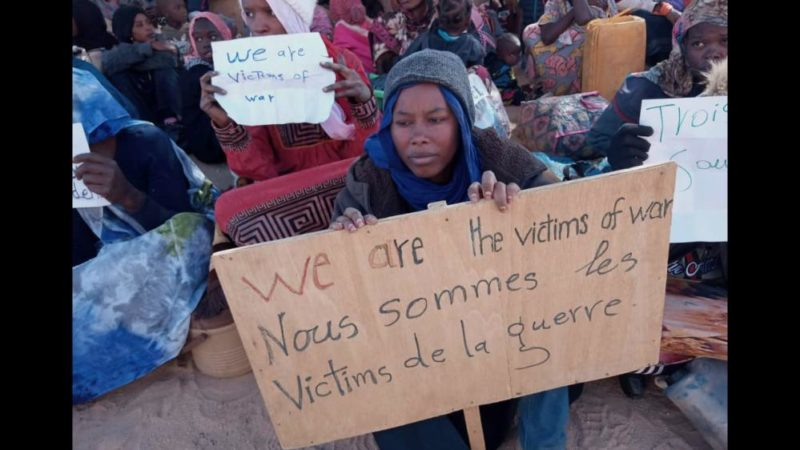 Sudanese Refugees Detained in Niger Giving Compass