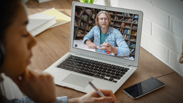 Delivering Trauma-Informed Care Online to Students Giving Compass