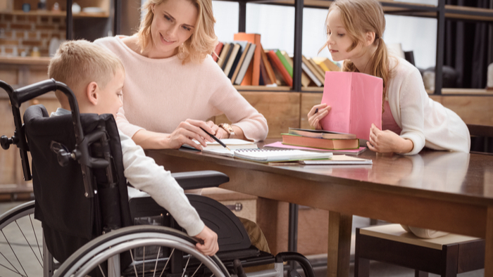 Parents of Children with Disabilities During Remote Learning Giving Compass