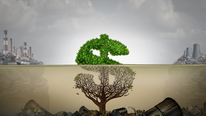 Following the Immeasurable Financial Cost of Climate Change Giving Compass