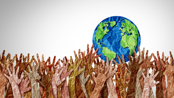 Climate Justice Around the World giving compass