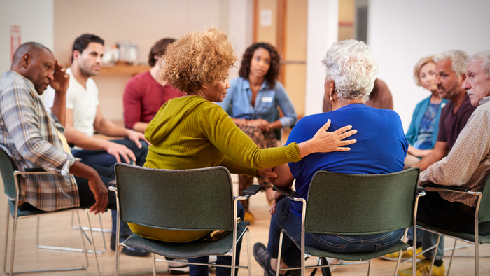 Detaching from Top-Down Treatment in Community Mental Health Care Giving Compass